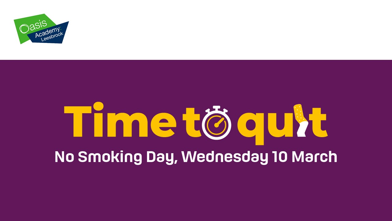 No Smoking Day, 10th March 2021